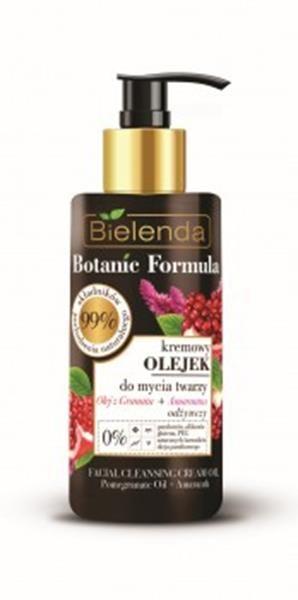 BIELENDA BOTANIC FORMULA Olej z Granatu + Amarantus Kremowy olejek do mycia twarzy 140 ml