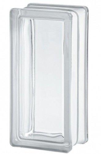 Luksfer 2411 8 Clearview gładki 24x11x8 cm pustak szklany