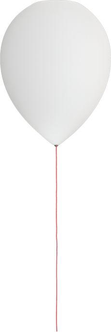 Plafon Balloon t-3052 Estiluz biała oprawa w dekoracyjnym stylu