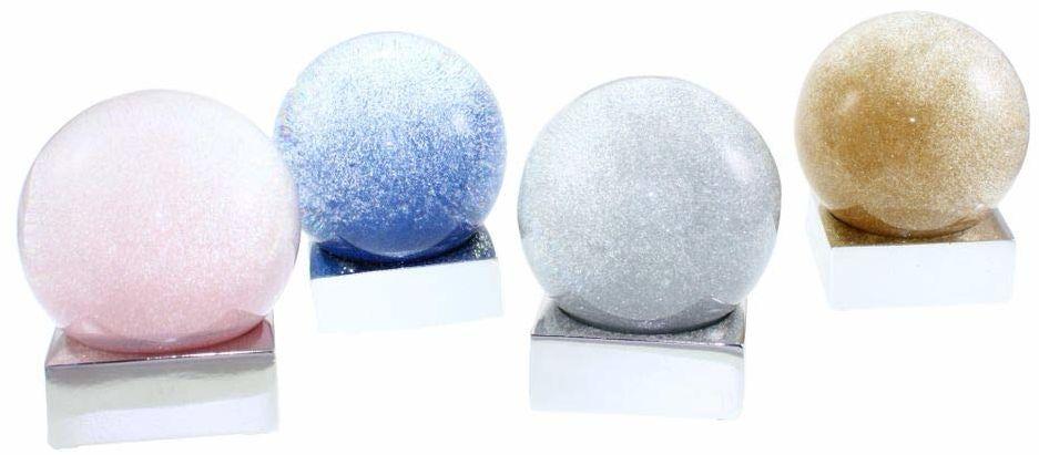 Dorex kula, szkło, różowy, niebieski, rozmiar uniwersalny