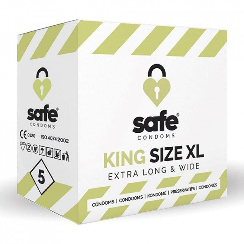 Prezerwatywy Safe King Size XL 5 szt.