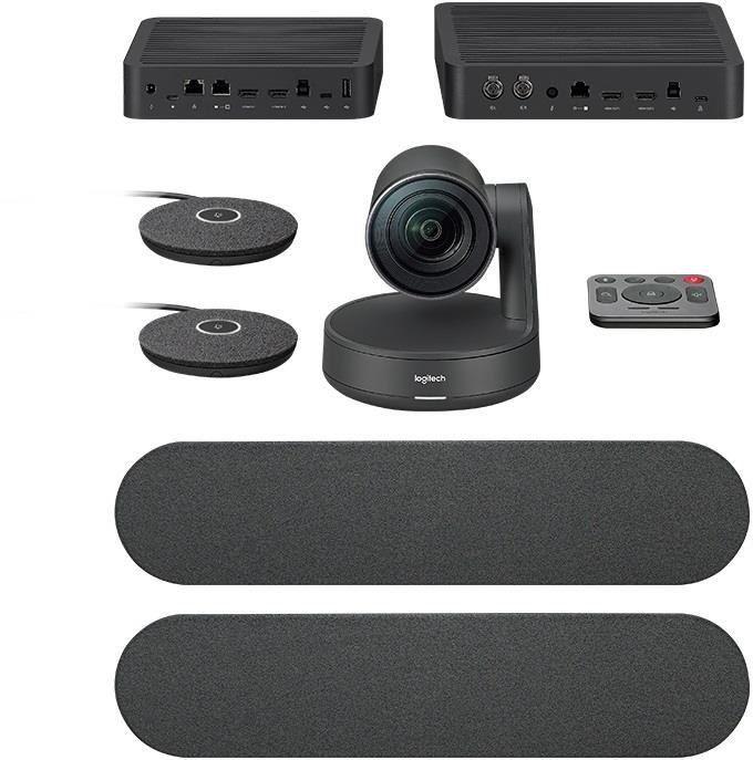 System wideokonferencji Logitech RALLY PLUS czarny