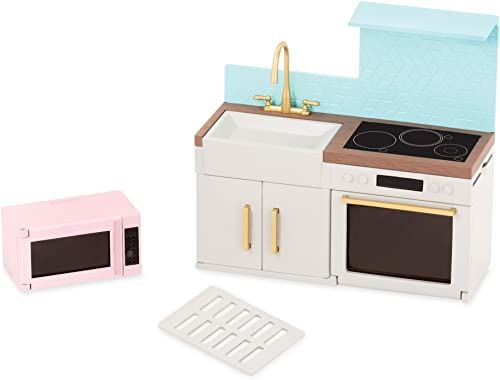 Lori LO37043Z lalka nowoczesny zestaw kuchenny