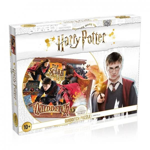 Puzzle 1000 Harry Potter Quidditch - Winning Moves