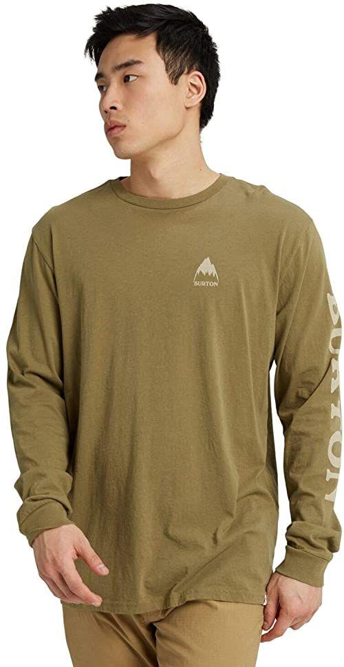 Burton Elite męska koszulka z długim rękawem, Martini Olive, XS