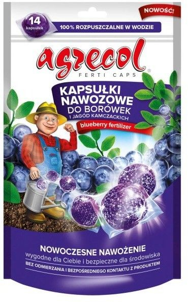 Kapsułki nawozowe do borówek Agrecol