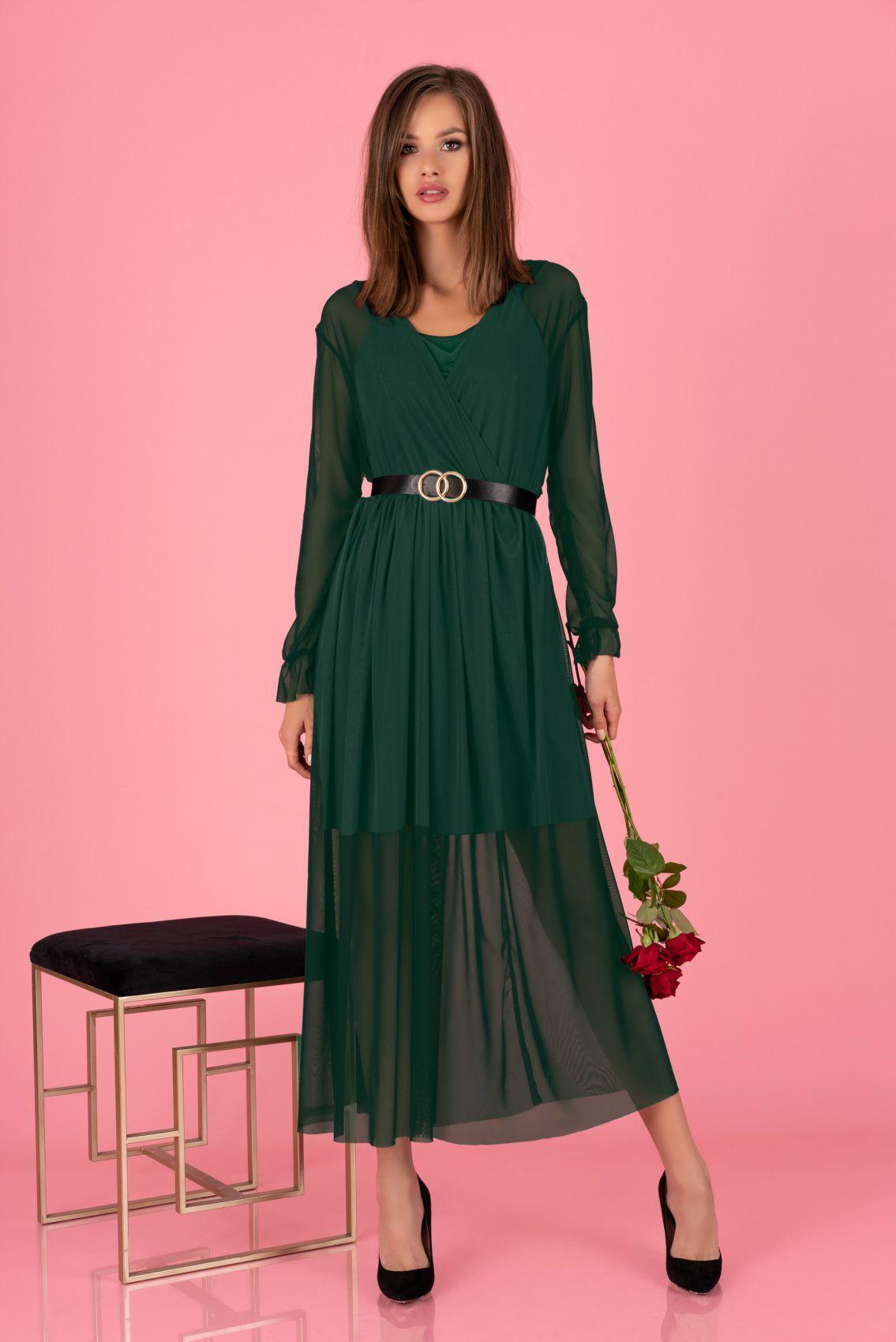 Mariedam Dark Green 1405 sukienka