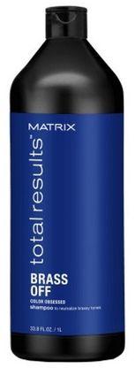 Matrix Total Results Brass Off Color Obsessed Szampon do włosów neutralizujący miedziane odcienie - 1000ml Do każdego zamówienia upominek gratis.