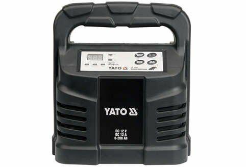 Prostownik elektroniczny 12v 12a 6-200ah Yato YT-8302 - ZYSKAJ RABAT 30 ZŁ