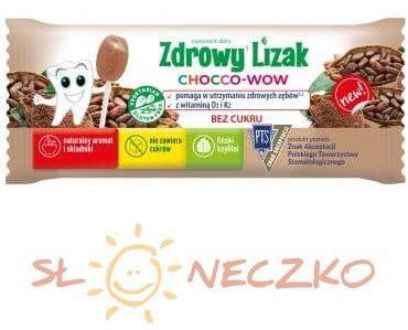 Zdrowy lizak mniam-mniam Chocco-wow (6g)