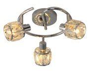 Crownie Spirala 3 pł. chrom kryształ