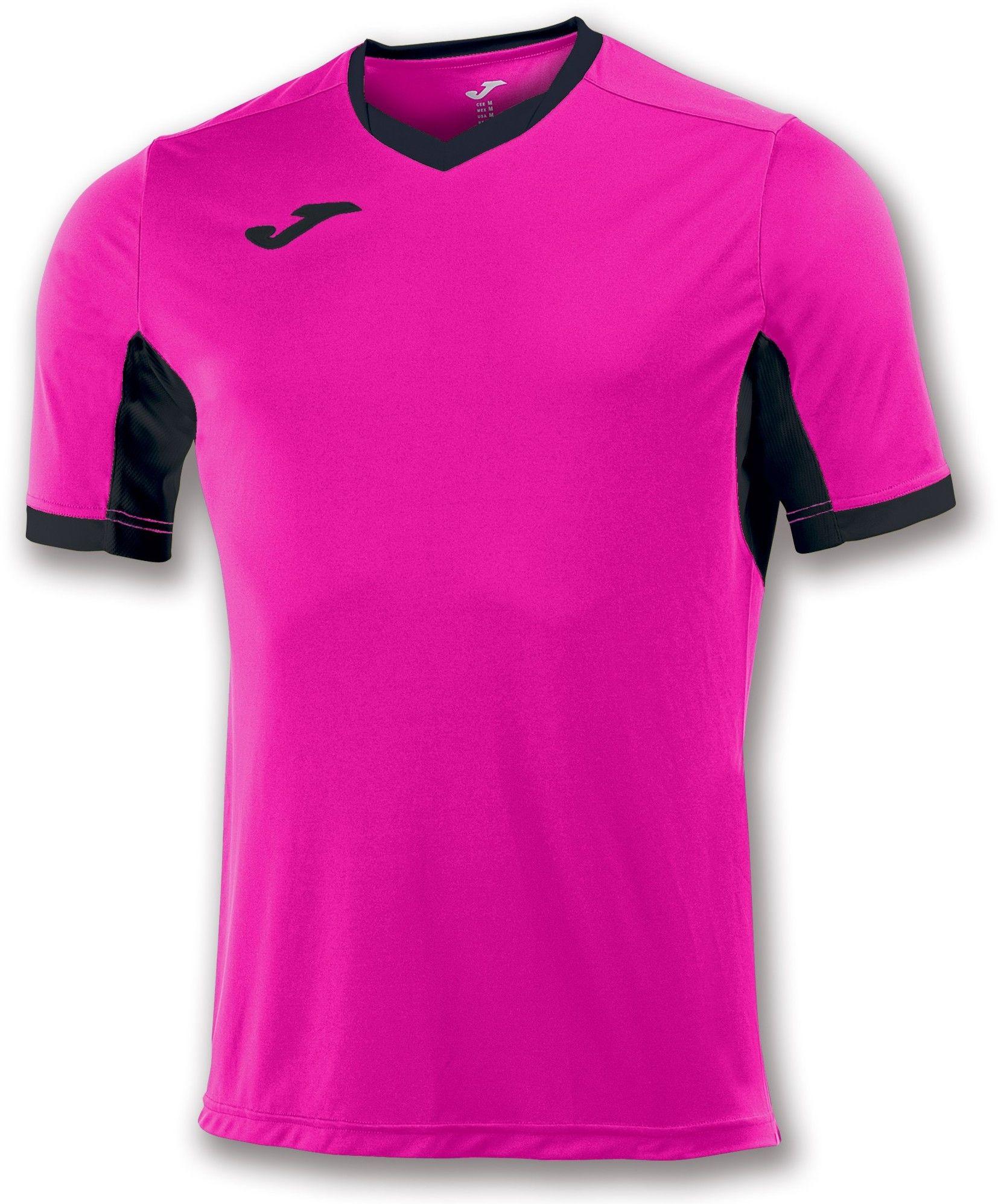 Koszulka Joma Champion IV pink fluor/black (10 szt.)