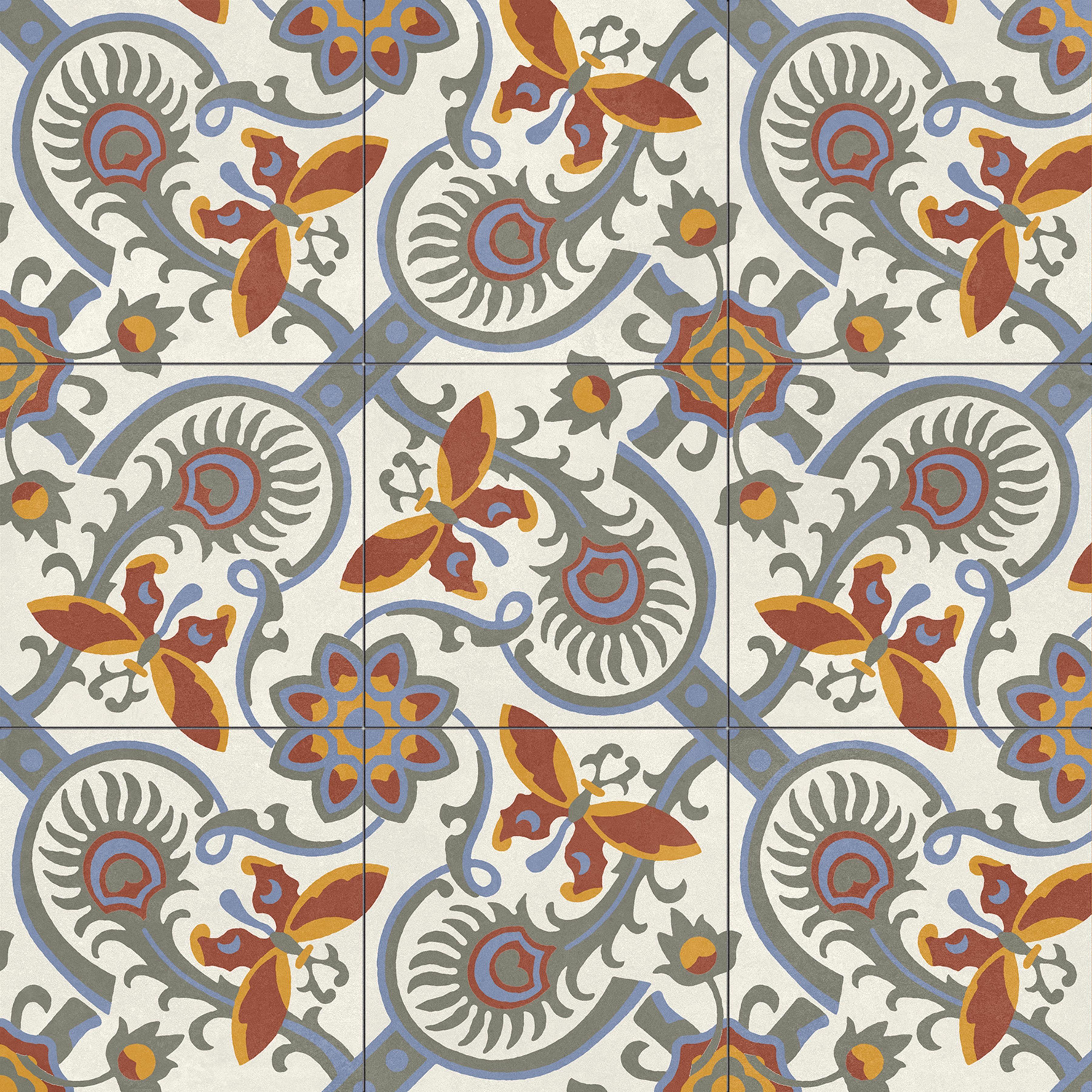 Altea Alba Natural 59.2x59.2 płytka patchwork