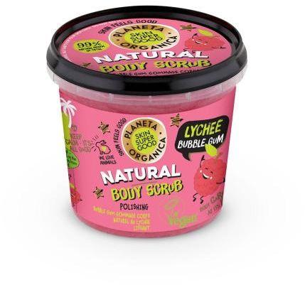 Scrub do ciała nawilżający Lychee Bubble Gum 360 ml SSG Planeta Organica