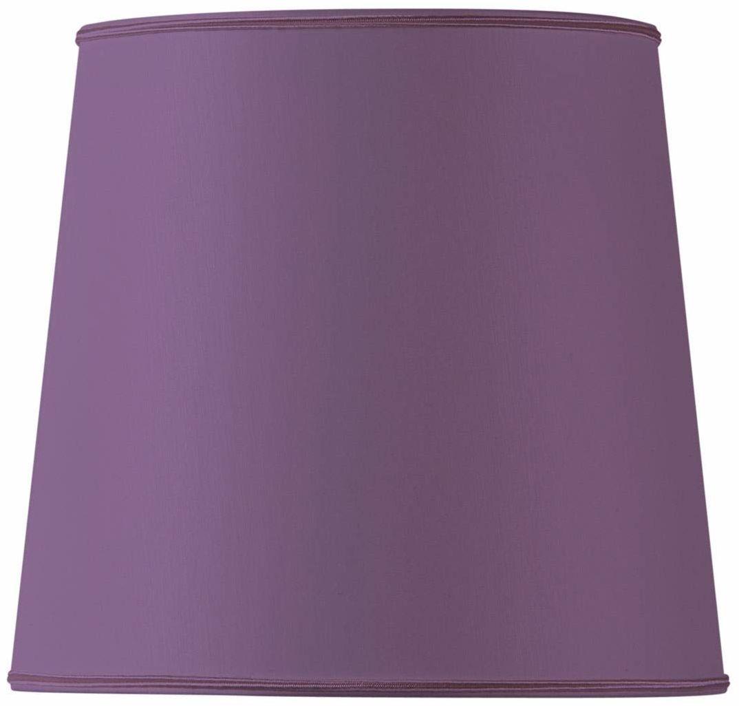 Klosz lampy w kształcie litery U, 25 x 20 x 23 cm, fioletowy