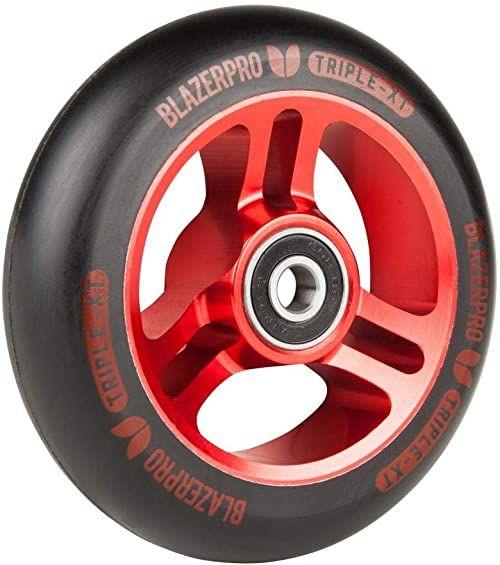 Blazer Pro Blazer Pro Scooter Wheel wrotki unisex dla dorosłych, wielokolorowe (Black/Red), 100