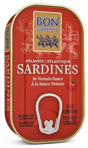 Sardynki w pomidorach 120g Bon Appetit