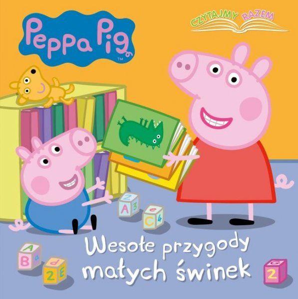 Świnka Peppa Czytajmy razem 1 Wesołe przygody małych świnek