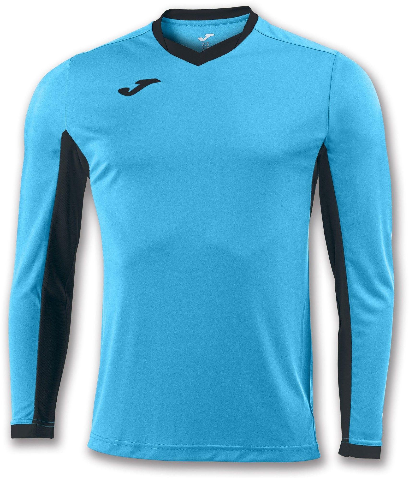 Koszulka Joma Champion IV turquoise fluor/black (10 szt.)