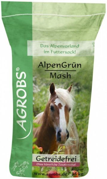 AGROBS Alpen Grun Mash 15 kg - St. Hippolyt
