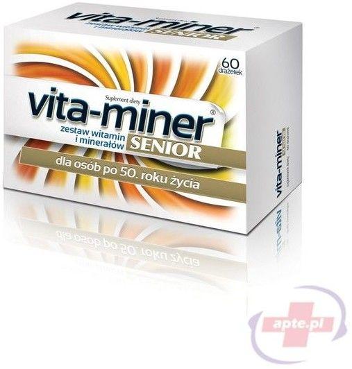 Acti Vita-miner Senior Zestaw witamin i minerałów, 60 tabletek
