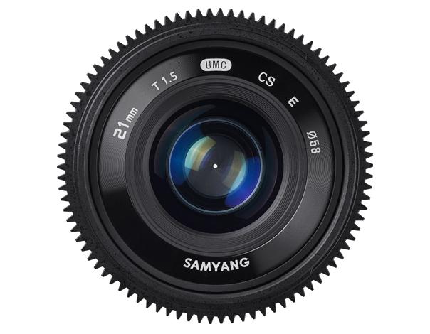 Samyang 21mm T1.5 ED AS UMC CS - obiektyw do Sony E Samyang 21mm T1.5 ED AS UMC CS