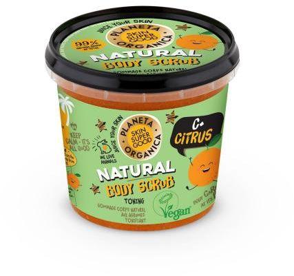 Scrub do ciała wygładzający skórę C+ Citrus 360 ml SSG Planeta Organica