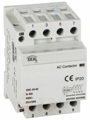 Stycznik modułowy 40A 4Z 0R 230V AC KMC-40-40 23254