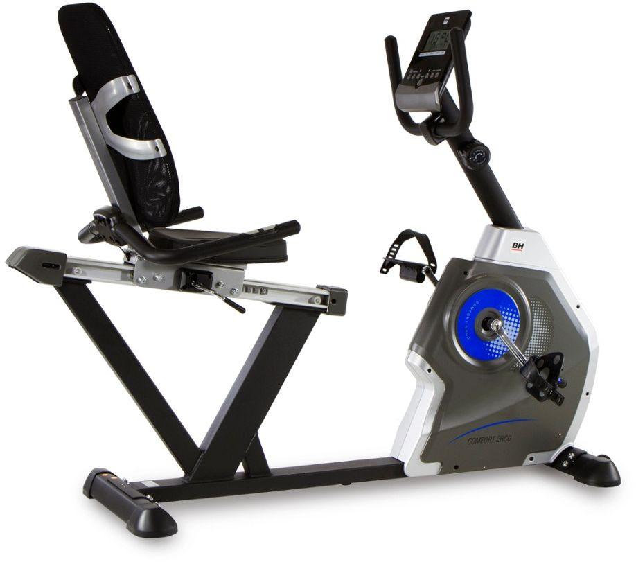 Rower Treningowy Magnetyczny Poziomy Comfort Ergo H852 BH Fitness
