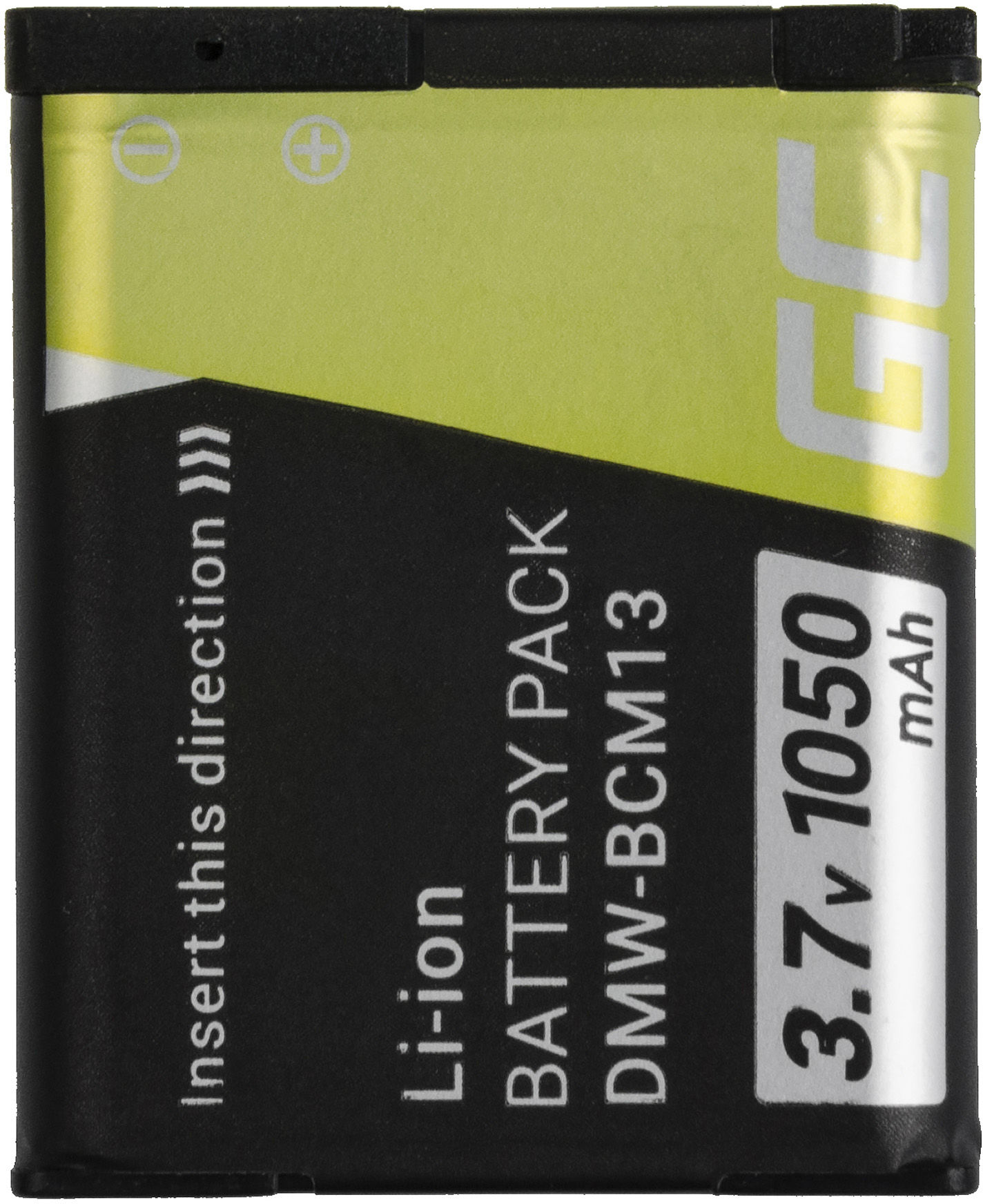 Akumulator Bateria Green Cell  DMW-BCM13E BCM13 do Panasonic Lumix DMC FT5 TS5 TZ40 TZ41 TZ55 TZ60 LZ40 ZS30, 3.7V 1050mAh