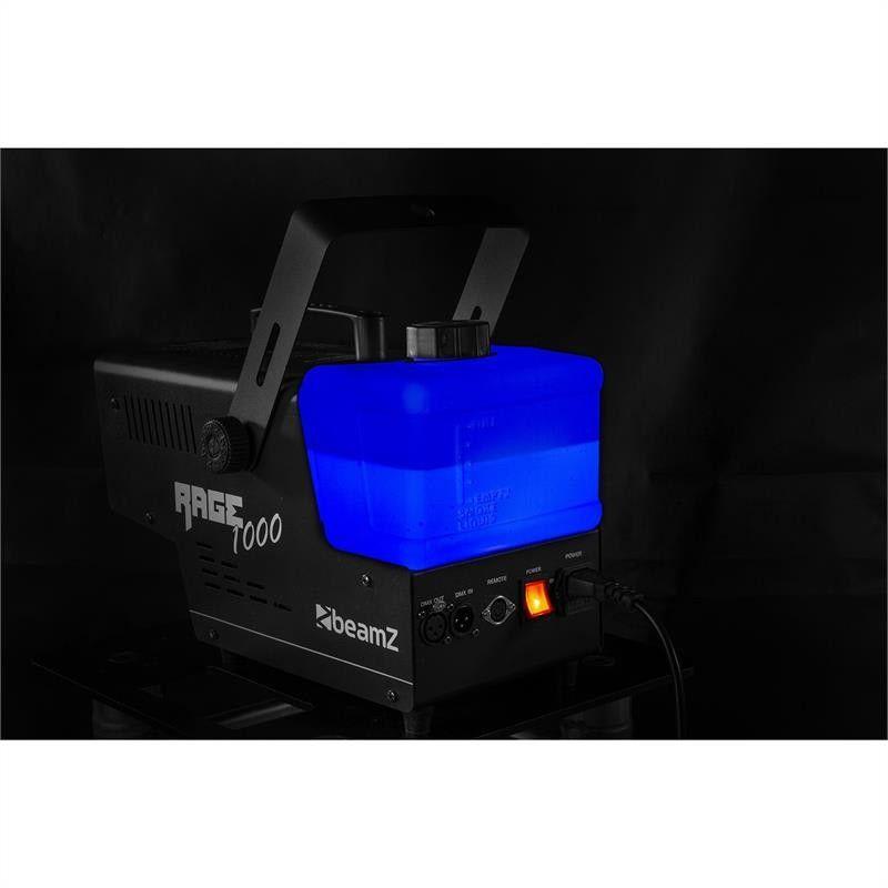 Wytwornica dymu z efektem LED BeamZ Rage 1000LED