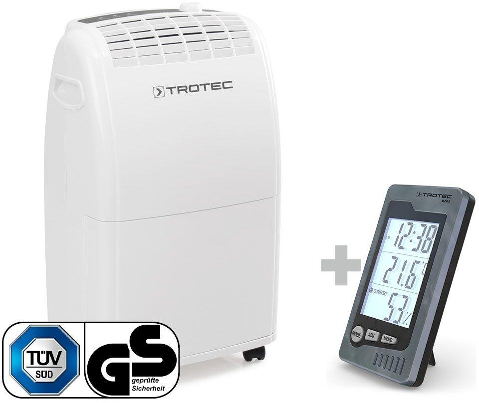 Osuszacz powietrza TTK 75 E + termohigrometr pomieszczeniowy BZ05