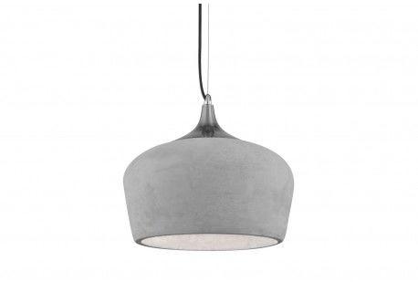Lampa wisząca Parma AZ2799 AZzardo betonowa oprawa w nowoczesnym stylu
