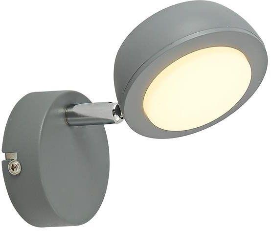 MILD LAMPA KINKIET 1X6W LED SZARY 3000K