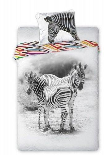 Pościel Bawełniana Wild Zebra