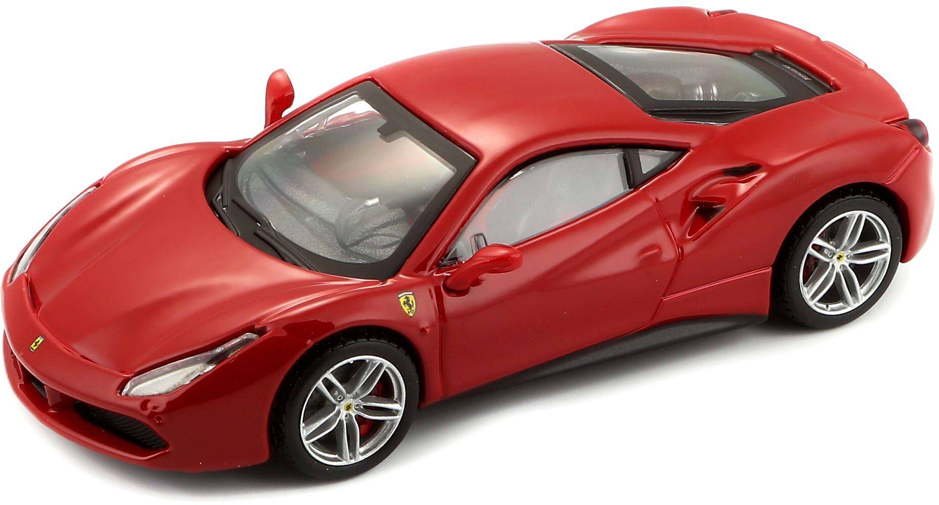 Bburago B18-36904 Ferrari 488 GTB zestaw modelowy odlewany ciśnieniowo, mieszana, skala 1:43
