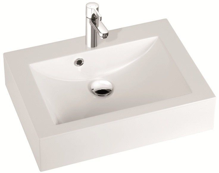 Marmorin umywalka nablatowa Ceto 60cm bez otworu biała 170060022010 __DARMOWA DOSTAWA__