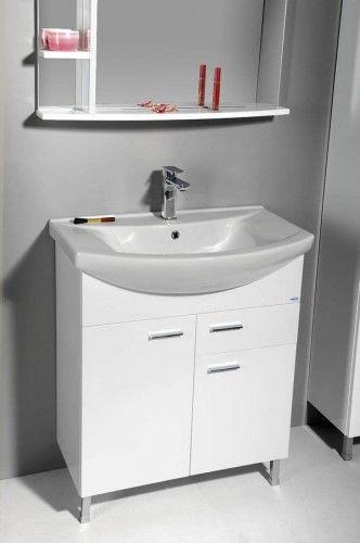 ZOJA szafka pod umywalkę 71,5x74x34cm, biała