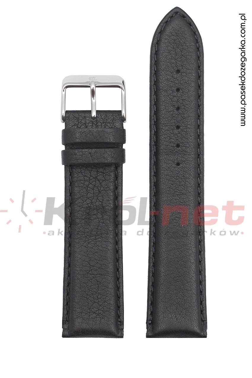 Pasek PA021/24 - czarny, long
