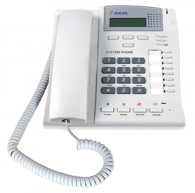 Slican CTS-102.CL-GR - telefon systemowy
