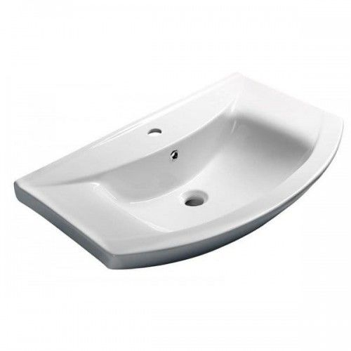 Umywalka meblowa ceramiczna 75x48,5cm ZERO
