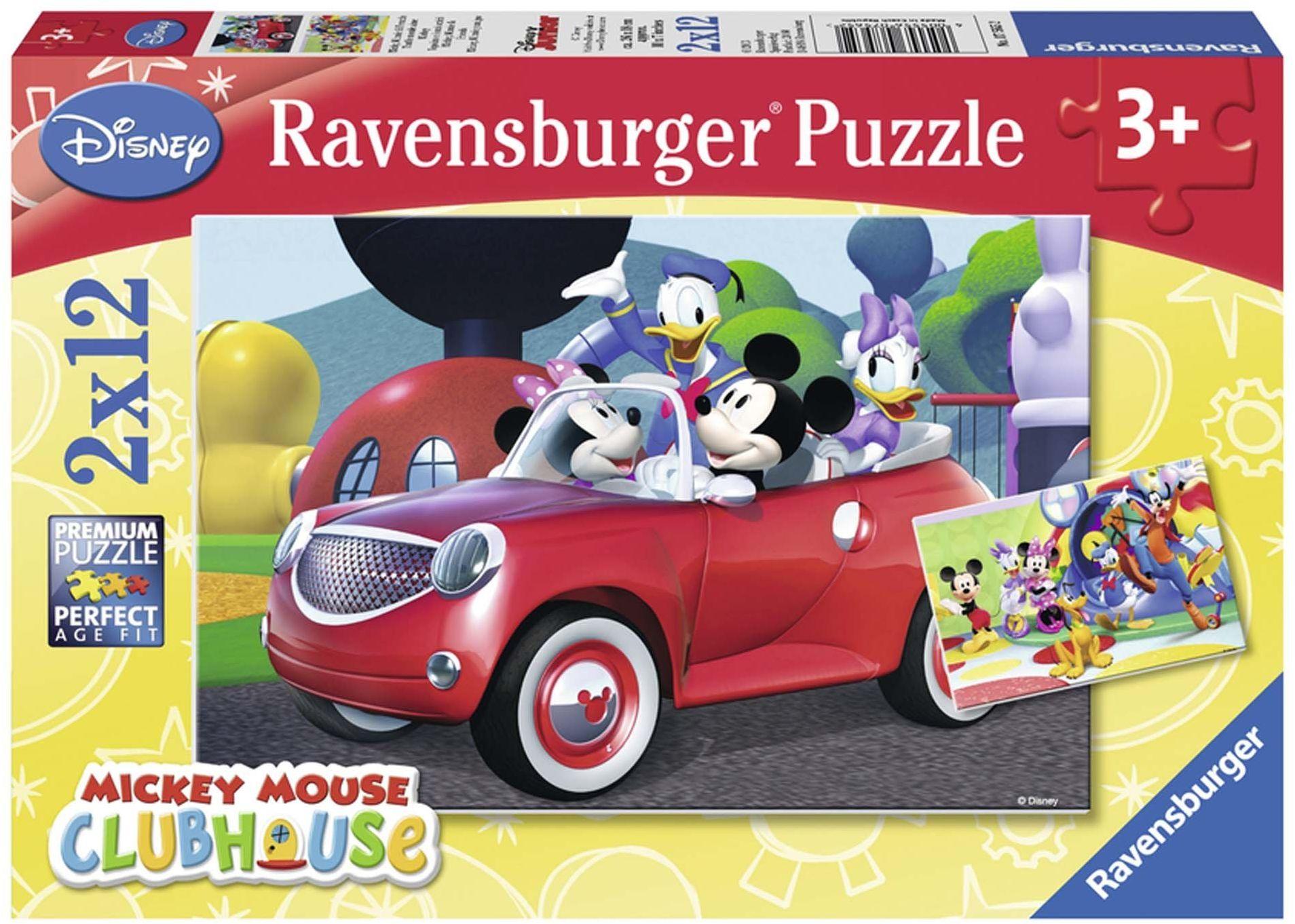 Ravensburger 7565 Mouse Puzzle, Mickey, Minnie i Twoi przyjaciele