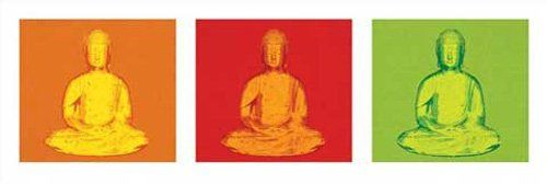 empireposter - Budda - Pop Art - rozmiar (cm), ok. 91,5 x 30,5 - plakat Slim, nowy -