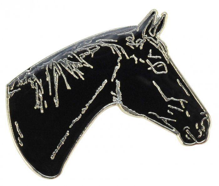 Znaczek ozdobny 84 - głowa karego konia - HappyRoss