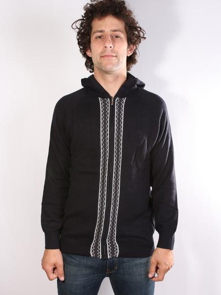 Altamont REYNOLDS DARK NAVY luksusowy męski sweter - M