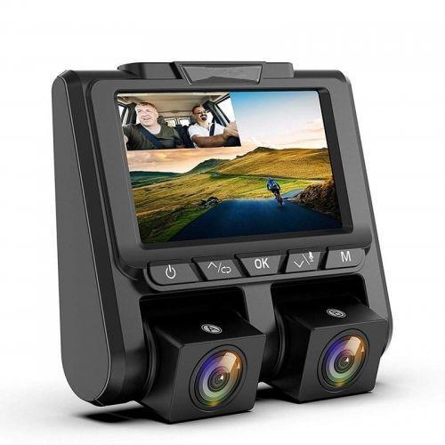 Kamera samochodowa z dwoma obiektywami, Full HD videoCAR T310