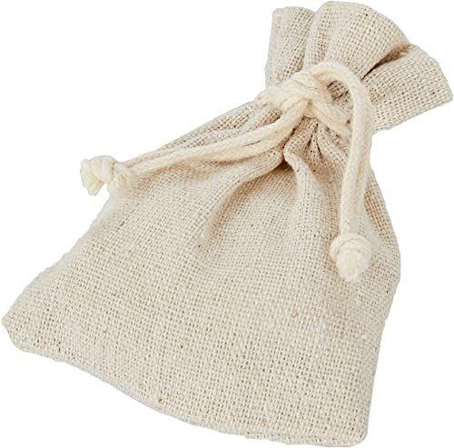 Mopec A2490.13 torba bawełniana, beżowa, 7,5 x 10 cm, 12 sztuk, tkanina, wielokolorowa