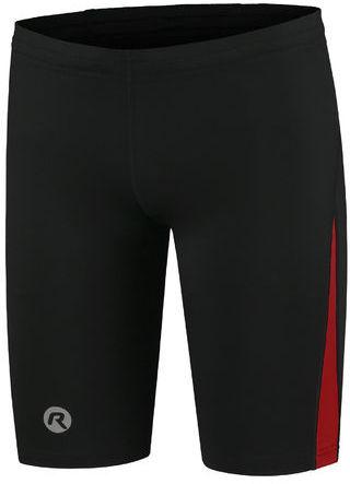 ROGELLI RUN DIXON - męskie spodenki sportowe, czarno-czerwone Rozmiar: S,dixon-red