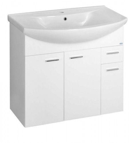 ZOJA szafka umywalkowa 82,8x74x34,3cm, biała
