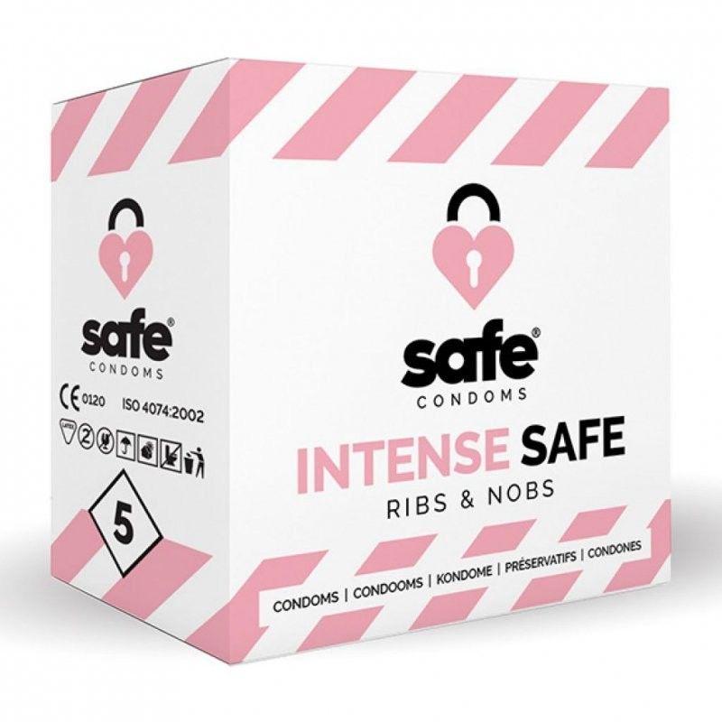 Prezerwatywy Intense Safe Condoms 5 szt.